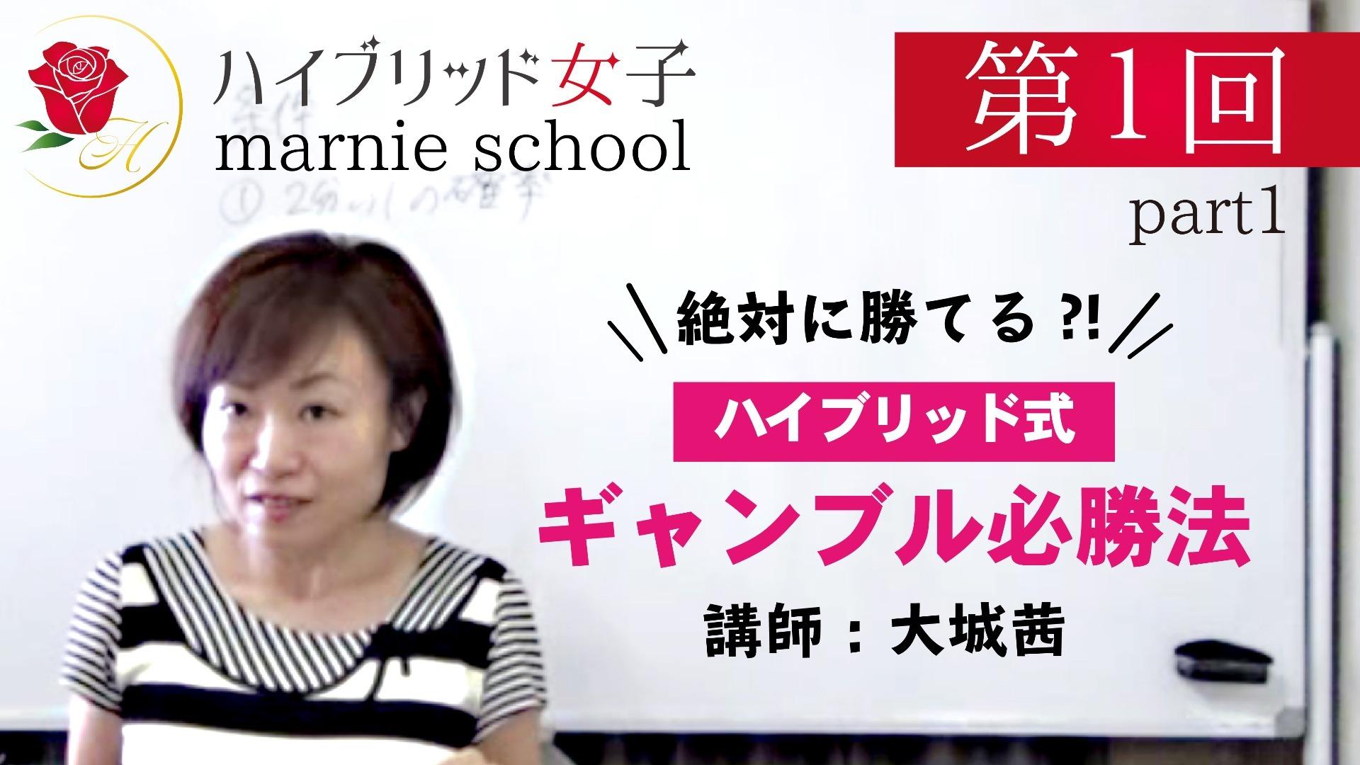 【中級編】 Marnie school 第1回 part1