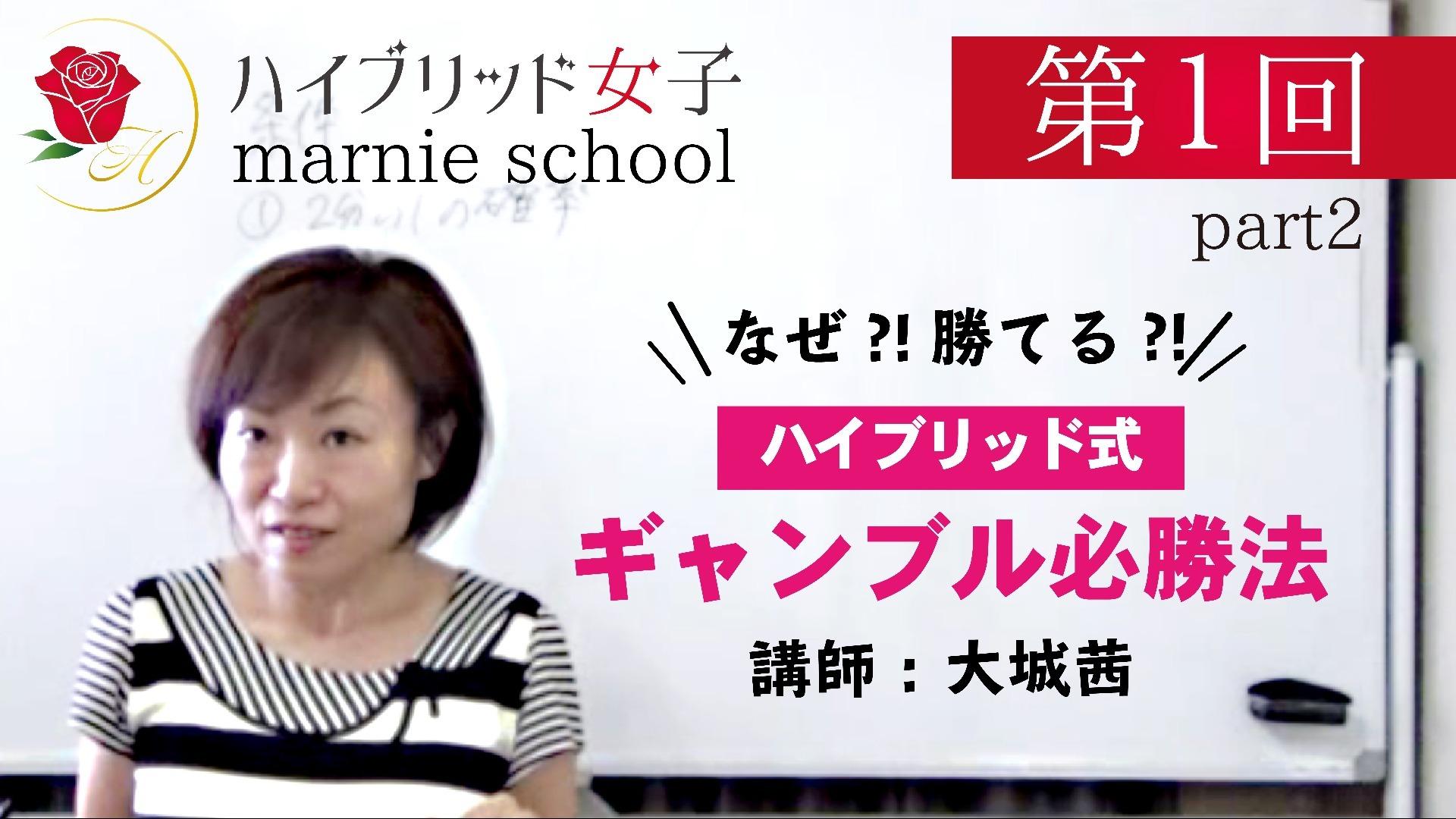 【中級編】 Marnie school 第1回 part2