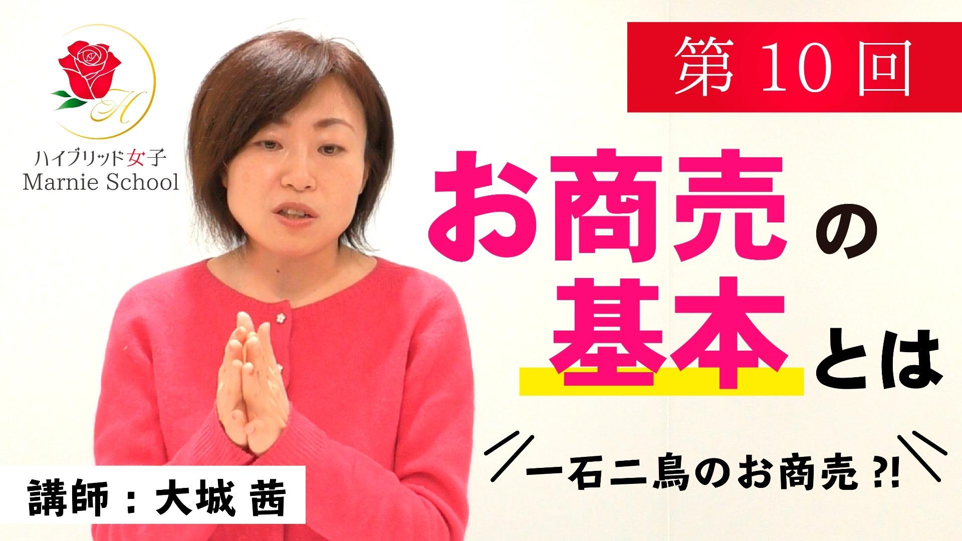【中級編】Marnie school 第10回