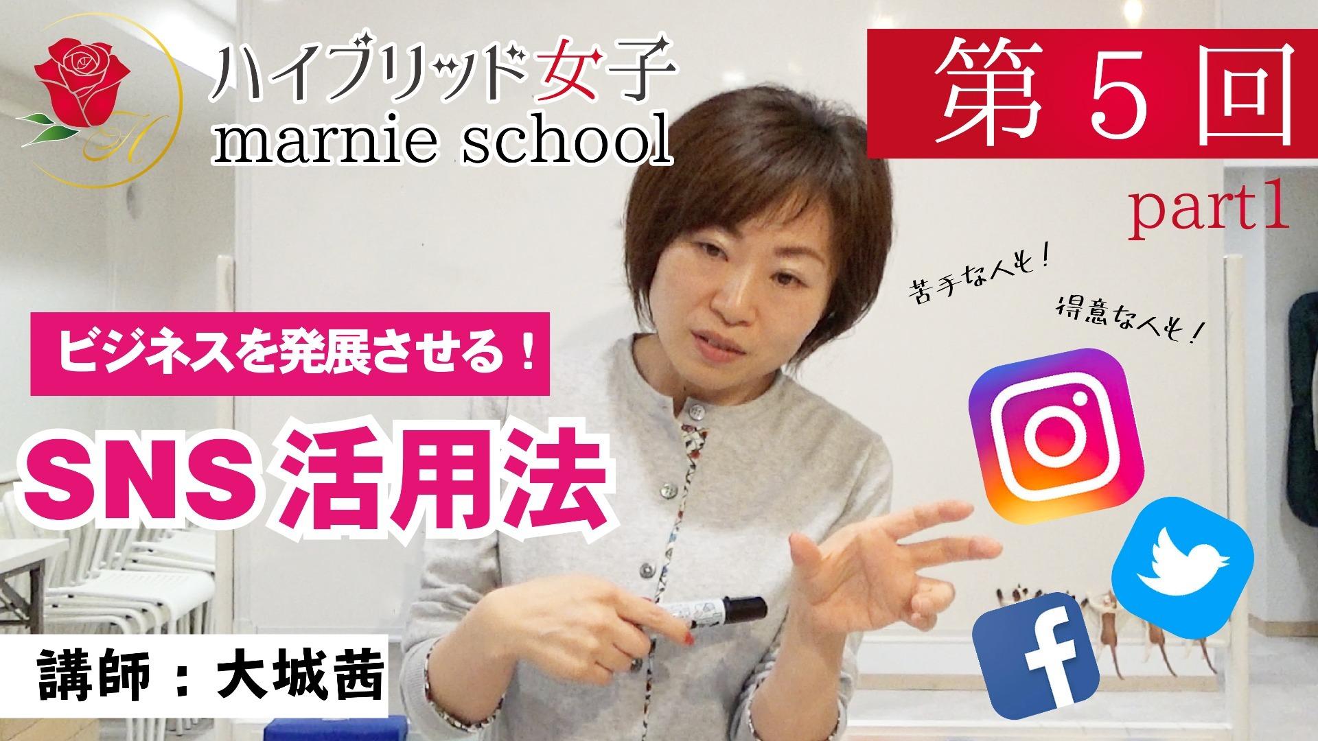 【中級編】 Marnie school 第5回part1