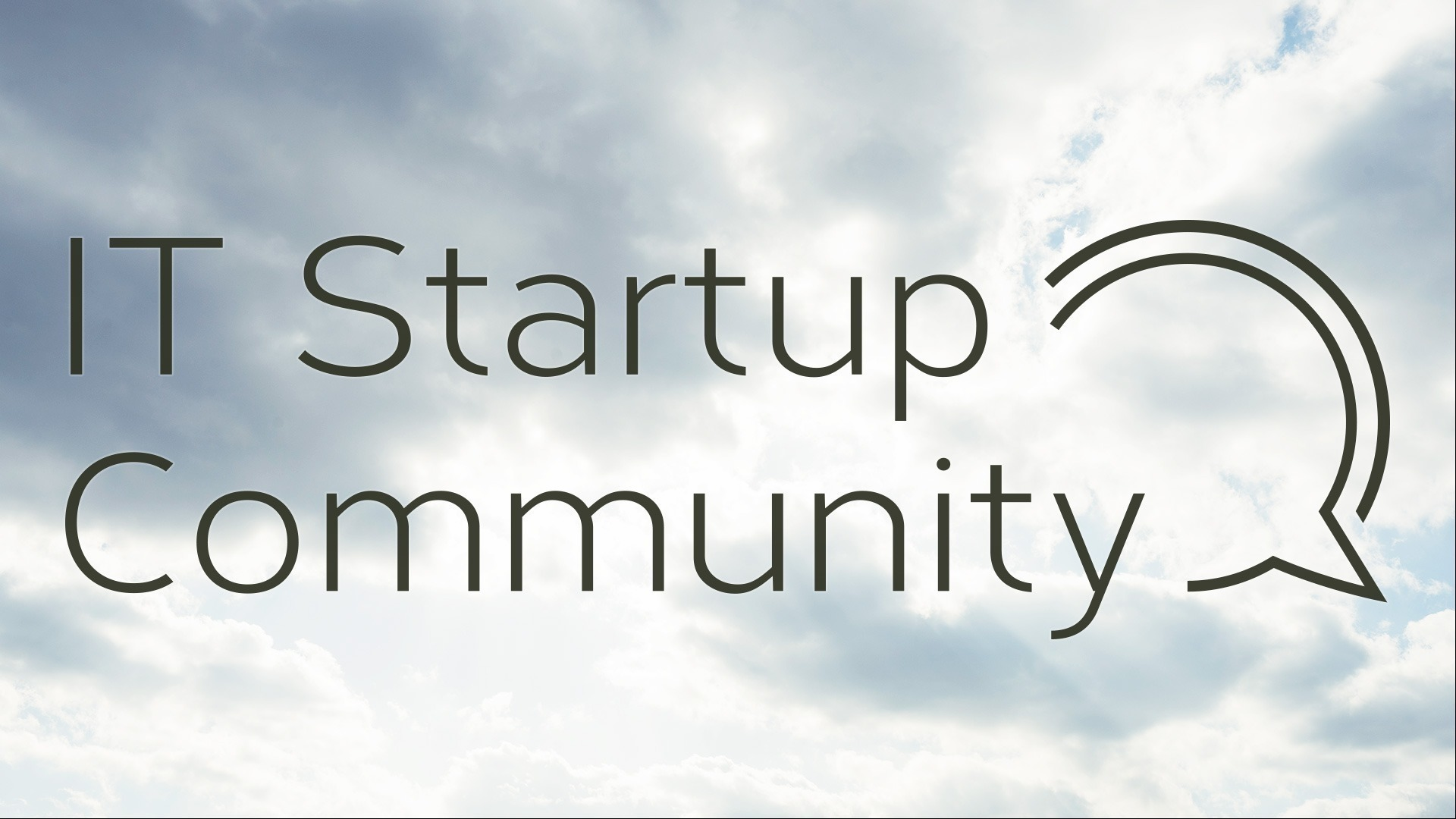 IT Startup Community