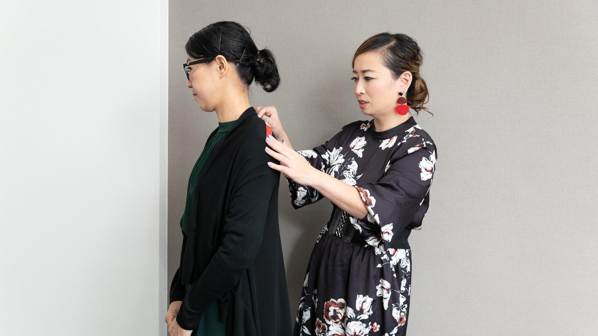 霜鳥まき子((株)SPSOパーソナルスタイリスト)