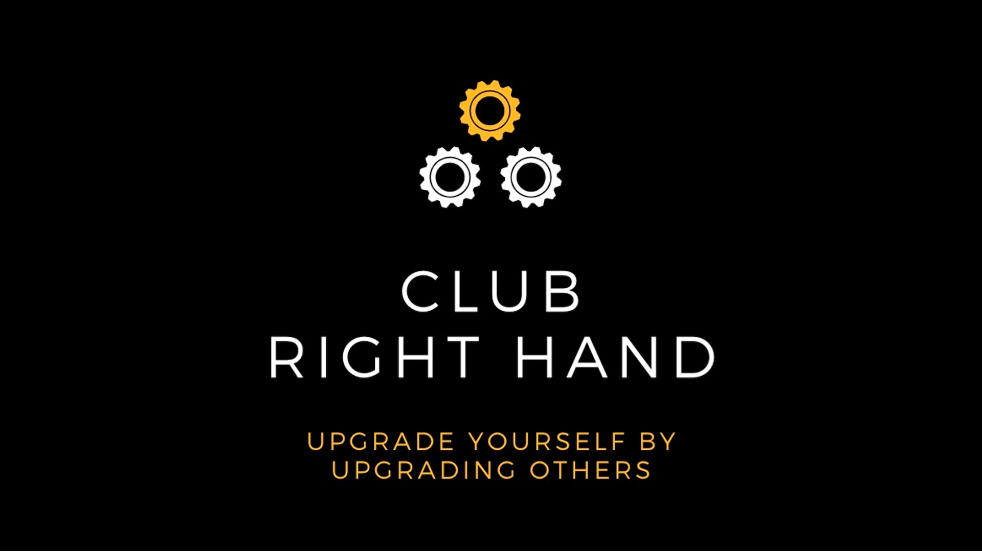 CLUB RIGHT HAND