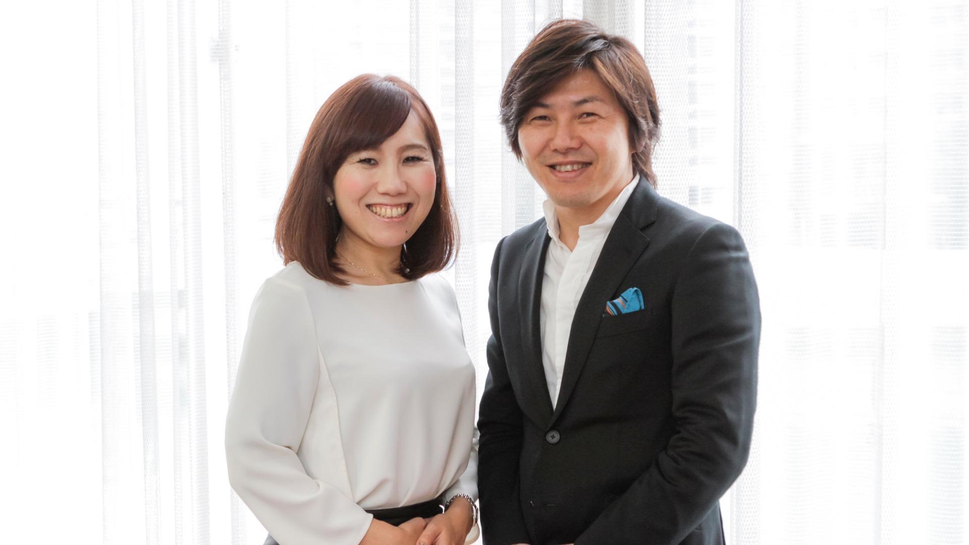 NPOふくりび 理事長 赤木 勝幸 & 事務局長 岩岡 ひとみ