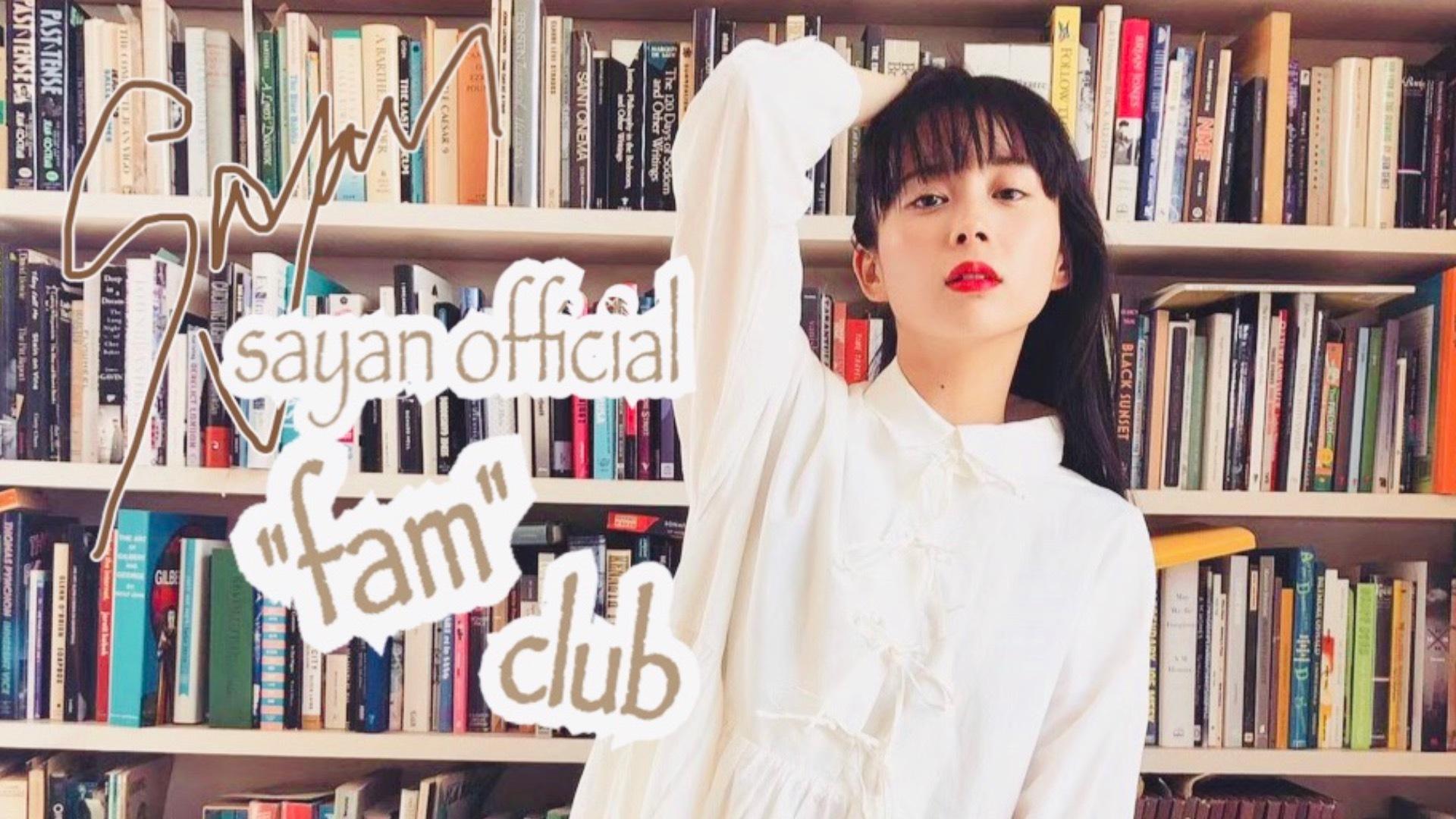 "sayan official ""fam"" club"