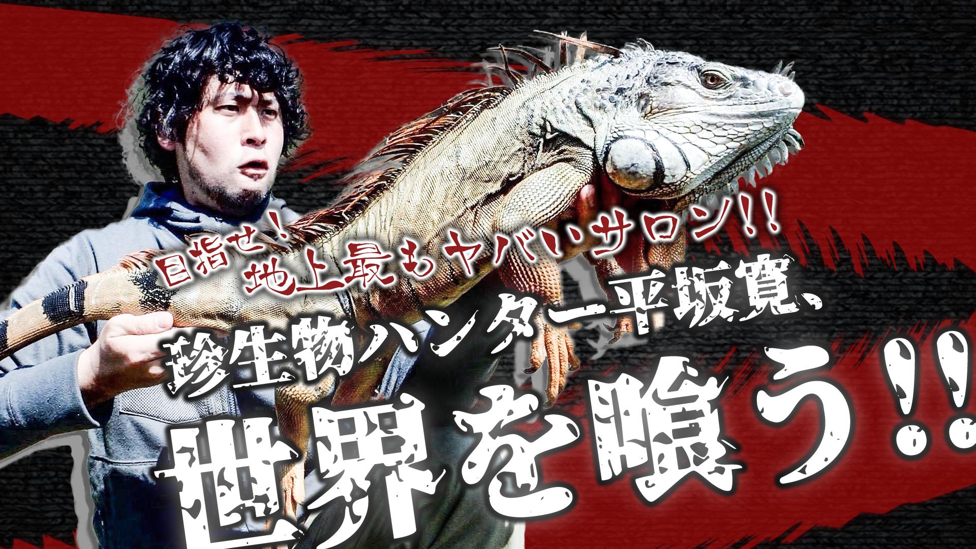 地上最もヤバいサロンを目指せ!  珍生物ハンター平坂寛、世界を喰う!!