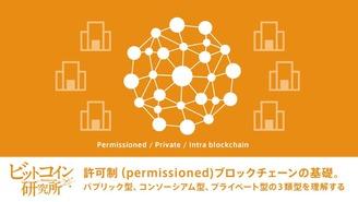 【レポート No.05】許可制ブロックチェーンの基礎の基礎