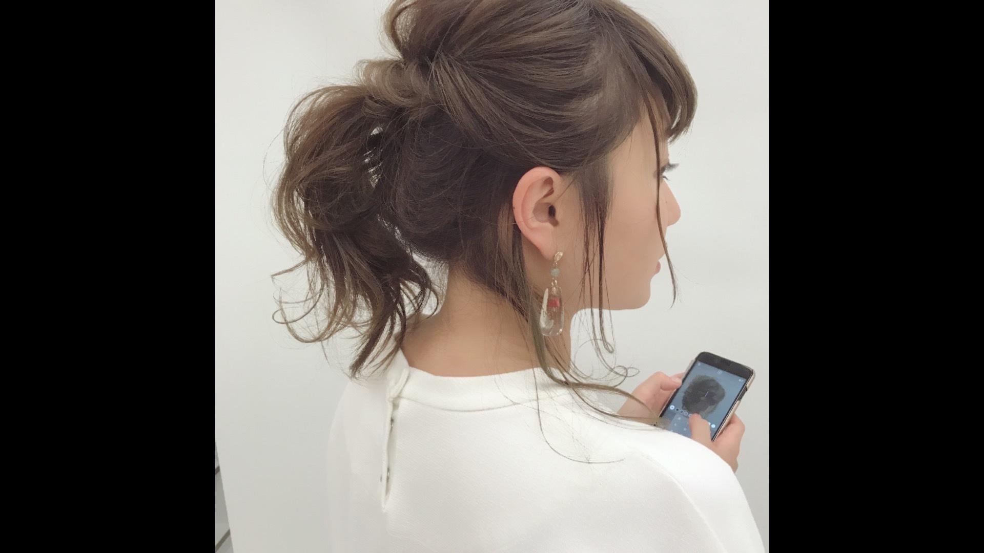 10/2松山ヘアアレンジセミナー動画(横波、ほぐし、ヘアアレンジ3つ)
