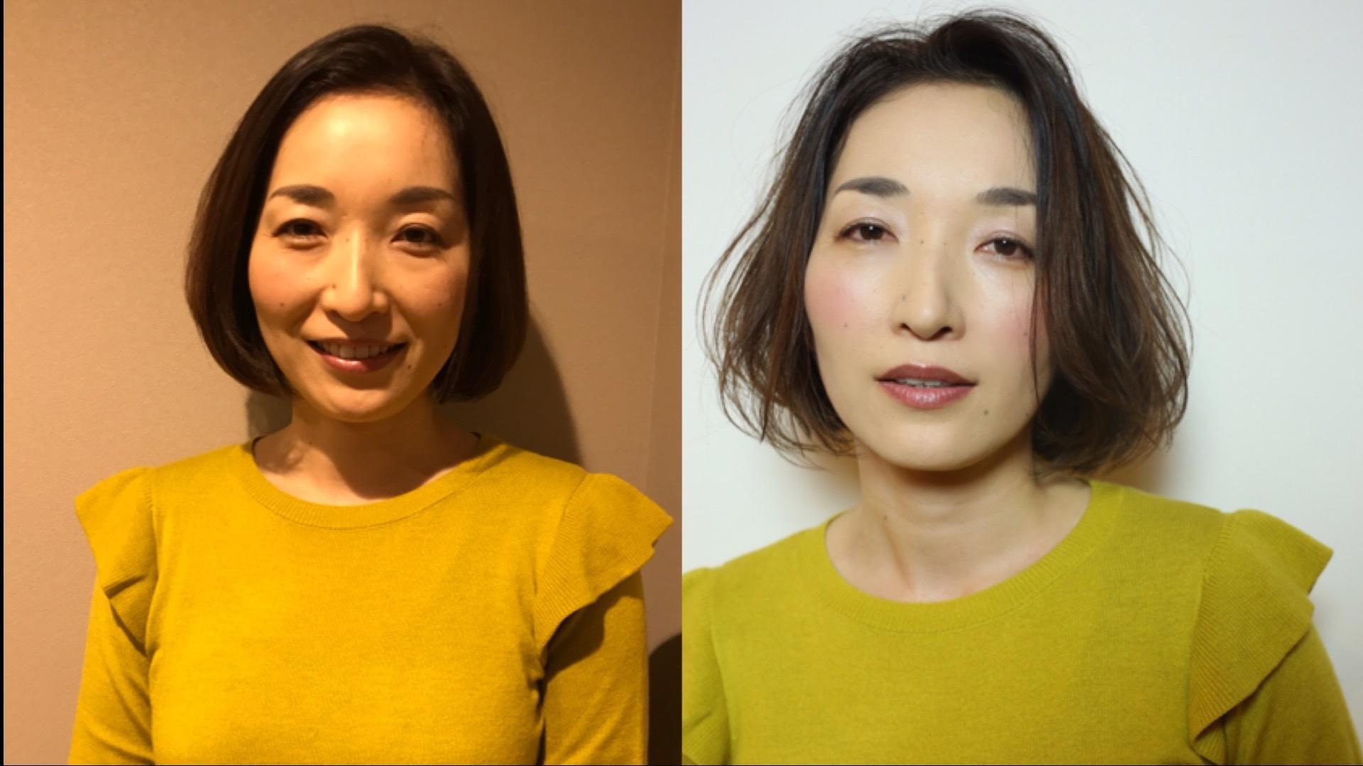 女性像に合わせたスタイリングプロセスPart2〜大人ボブ編〜
