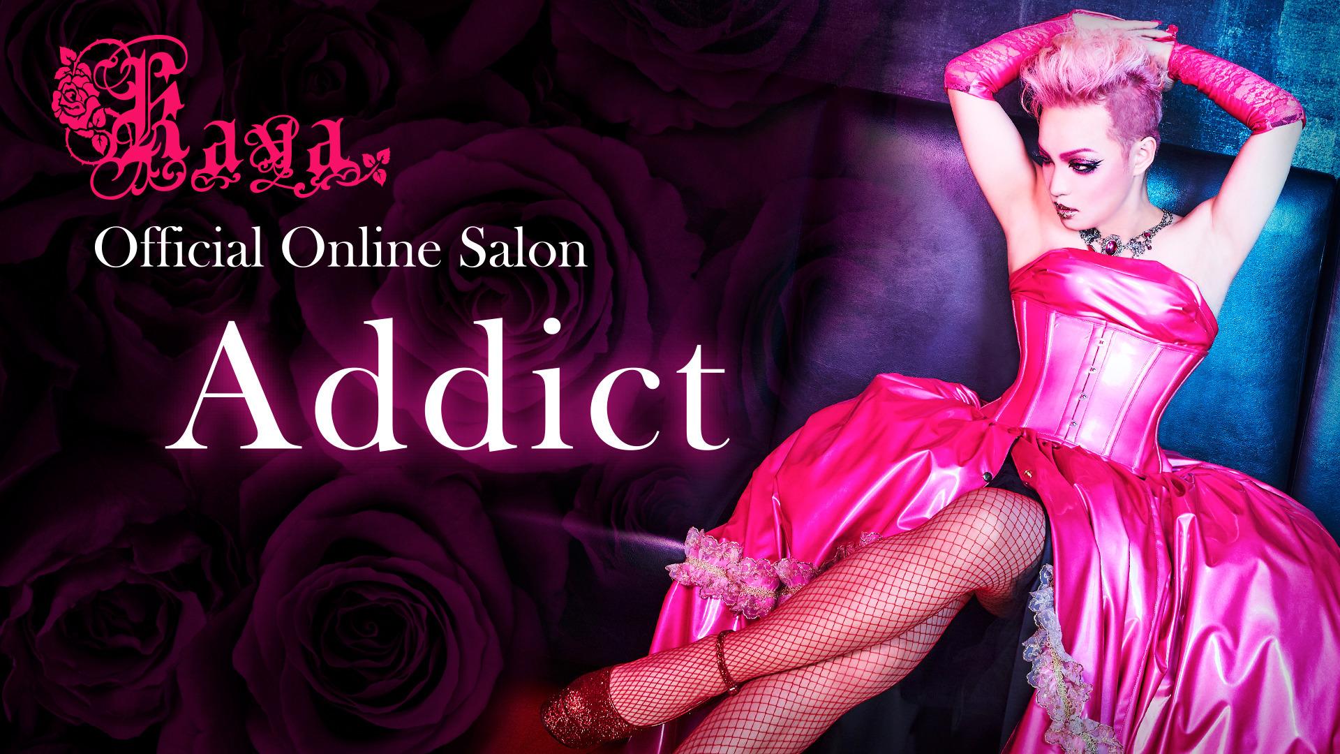 "Official Online Salon ""Addict"""