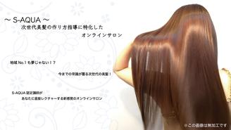 ~S-AQUA~ 次世代美髪の作り方指導に特化したオンラインサロン FRT Japan